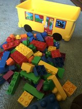 "Large Legos ""Duplo"" with ""Duplo"" Wagon in Travis AFB, California"