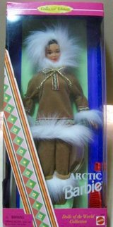 Arctic Barbie, Dolls of the World Collection 1996 in Okinawa, Japan