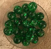 Green Cracked Glass Marbles in Joliet, Illinois