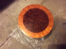 Wood Inlay Side Table in Naperville, Illinois