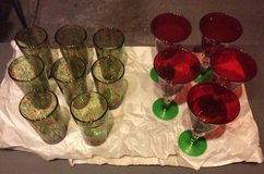Glass Blown Holiday Glasses in Naperville, Illinois