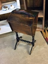 antique sewing stand in Cherry Point, North Carolina