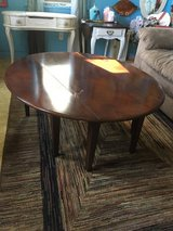 "Drop leaf coffee table 42""round  18"" tall in Houston, Texas"