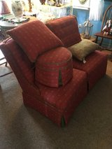2 acent chairs foot stool 2 pillows in Conroe, Texas