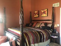 Z Gallerie Bed in Naperville, Illinois