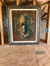 Mid Century Oil Painting in Yucca Valley, California