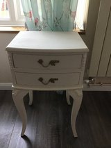 French shabby chic side/end table with 2 drawers in Lakenheath, UK