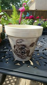 Painted Planter in Kingwood, Texas