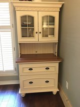 Office Desk + Matching Hutch with filing cabinet in Houston, Texas