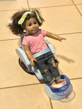 American Girl Doll w/Sounds Salon Pedicure Chair & Vanity Cute! in Travis AFB, California