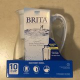 Brand New Brita 10 Cup Water Pitcher w/2 Filters Sealed in Travis AFB, California