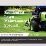 residential lawn cutting in Chicago, Illinois