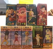 Banpresto One Piece World Collectible Figures in Okinawa, Japan