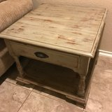 Large end table in Lackland AFB, Texas