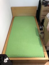 IKEA Malm bed frame and optional mattress (free) in Wiesbaden, GE