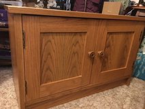 Nice Oak Cabinet in Quad Cities, Iowa