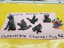 Brawley pewter collectible pins and charms in 29 Palms, California