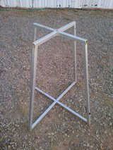Folding work table in Alamogordo, New Mexico