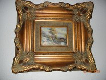 Vintage Original European Oil Painting - Lovely & Serene Landscape! in Alamogordo, New Mexico