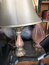 Pink Lamps retro treasures in Yucca Valley, California