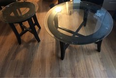 Three-piece coffee table and end tables in Fort Belvoir, Virginia