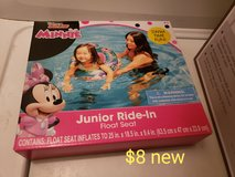 Minnie mouse pool float in Fairfield, California