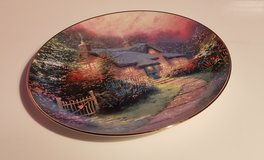 Thomas kinkade plate in Travis AFB, California