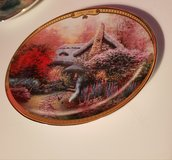 Thomas kinkade collectors plate in Travis AFB, California