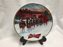 Budweiser 2006 Holiday Plate in Great Lakes, Illinois