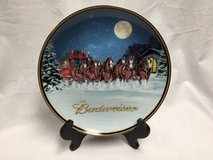 Budweiser 2005 Holiday Plate in Great Lakes, Illinois