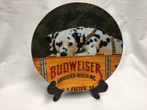"1994 Budweiser ""This Bud's For You"" Ceramic Plate in Great Lakes, Illinois"