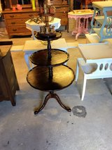antique 3 tier table #2 in Cherry Point, North Carolina