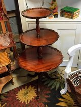 antique 3 tier table #1 in Cherry Point, North Carolina