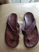 Leather Sandals, very good shape in Okinawa, Japan