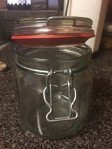 Jars with rubber seal in Naperville, Illinois
