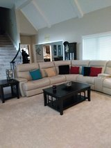 New sectional (electric recliners) with coffee table and end table in Fort Leavenworth, Kansas