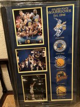 Golden State Warriors (Original Patches) in Travis AFB, California