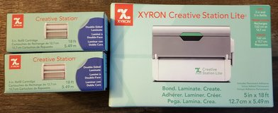 NEW!  Xyron Creative Station Lite and 2 additional refills in Naperville, Illinois