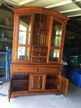 CHINA CABINET  2 Pieces in Macon, Georgia