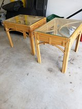 Wicker End Tables in Camp Lejeune, North Carolina