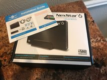 Nex star 6g usb 3 enclosure with 1terabyte hard drive included   $45.00 Text Bobby in The Woodlands, Texas