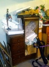 Vintage 4-Drawer Combo Armoire in Glendale Heights, Illinois