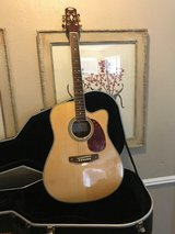 Foggy mountain Hand crafted guitar with cutout -beautiful in The Woodlands, Texas