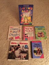 American Girl Books: Lot of 6 - Horses, Slumber Party, Games & Giggles, Fitness, ... in Cherry Point, North Carolina