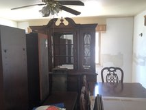 Table and China Cabinet in 29 Palms, California