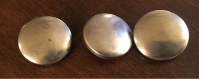 3 Metal Coverable Buttons in Chicago, Illinois