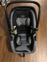 Gender infant car seat comes with base in Cherry Point, North Carolina