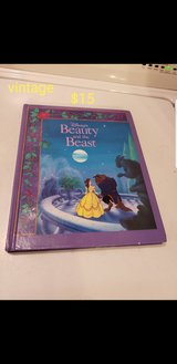 Vintage beauty and the beast story book in Travis AFB, California