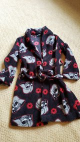 Boys fleece star wars robe 6 in Houston, Texas