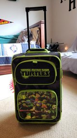 Ninja turtle suitcase in Houston, Texas